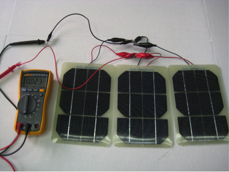 PV modules in parallel