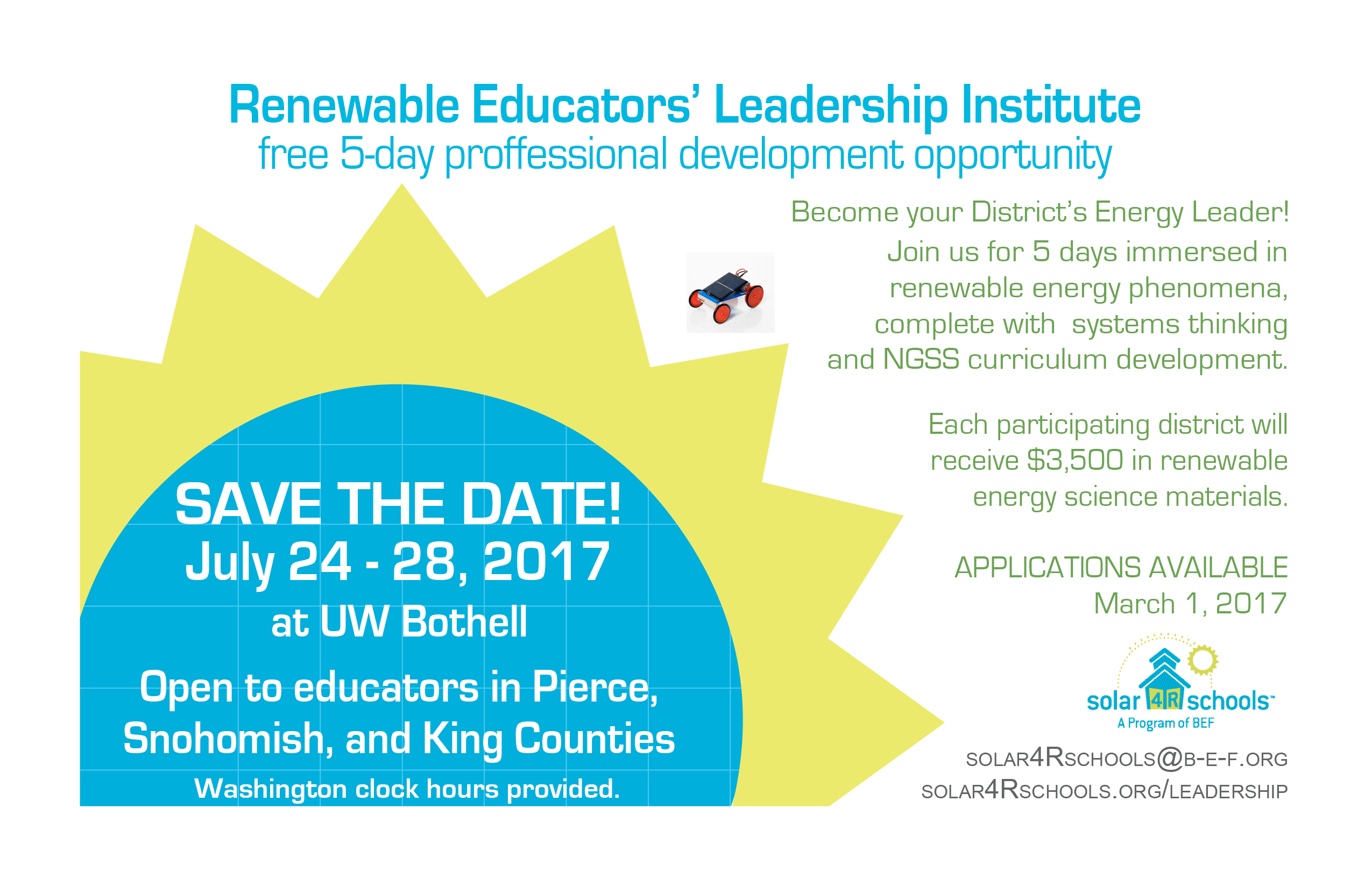 Leadership Institute Save the Date