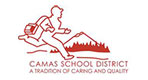 Camas School District logo primary