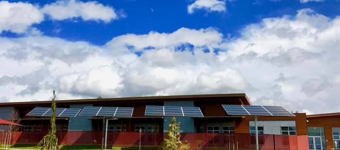 Betty J Taylor Early Learning Center Solar Array
