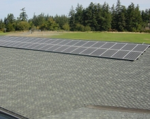 Orcas Island HS solar array